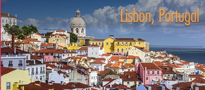 Lisbon Skyline at Alfama